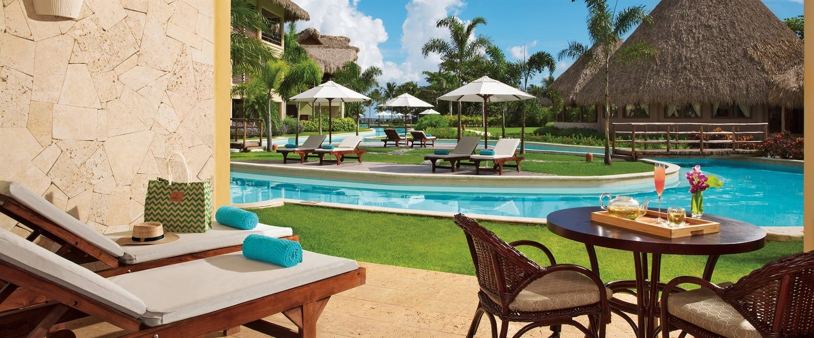Swim-up Junior Suite at Zoetry Agua Punta Cana, Dominican Republic