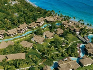 Aerial View of Zoetry Agua Punta Cana, Dominican Republic